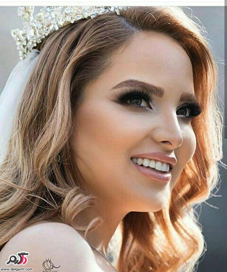 گالری از آرایش صورت عروس 2017