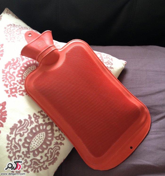 فواید استفاده از کیسه آب گرم