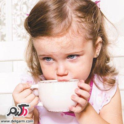 مضرات چایی برای کودکان