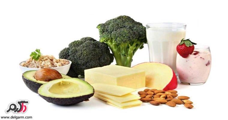 ماده غذایی خالی کننده کلسیم بدن