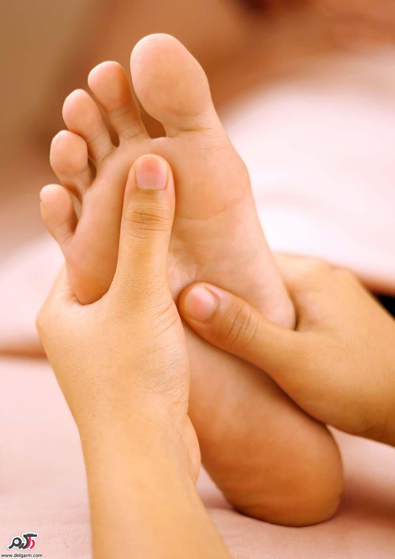 درمان سریع درد کف پا