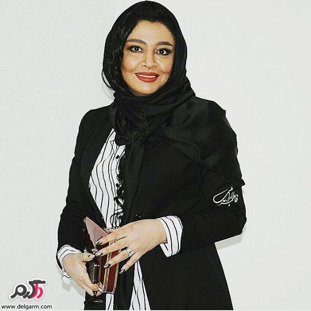 مه لقا باقری همسر جواد عزتی