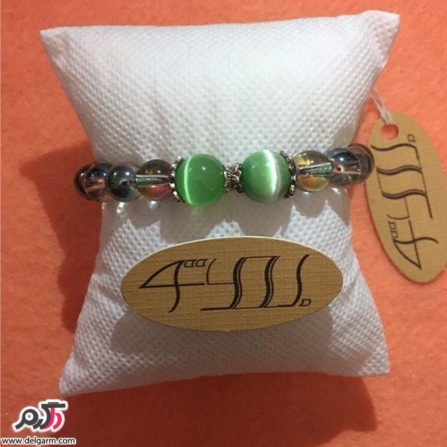 دستبند سنگی زیبا و شکیل