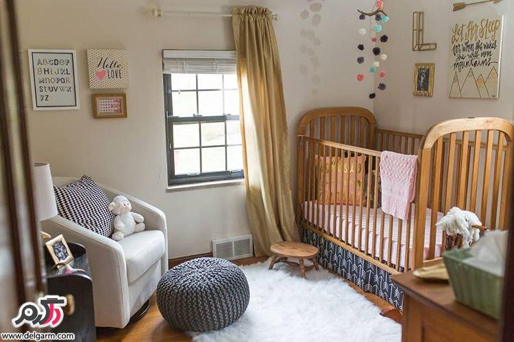 دکوراسیون اتاق کودک, دکوراسیون اتاق نوزاد, دکوراسیون داخلی