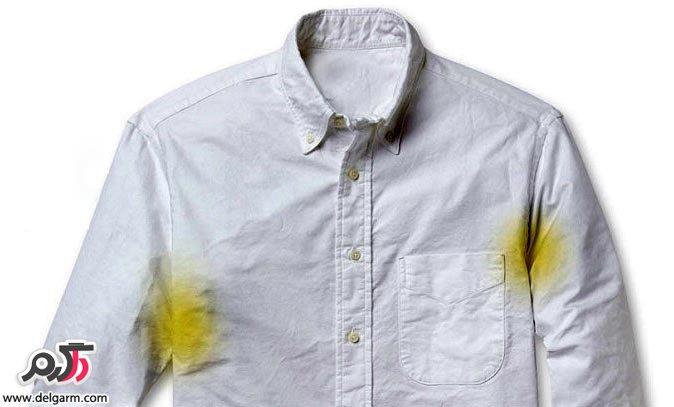 نکات طلایی برای از بین بردن لکه عرق از روی لباس
