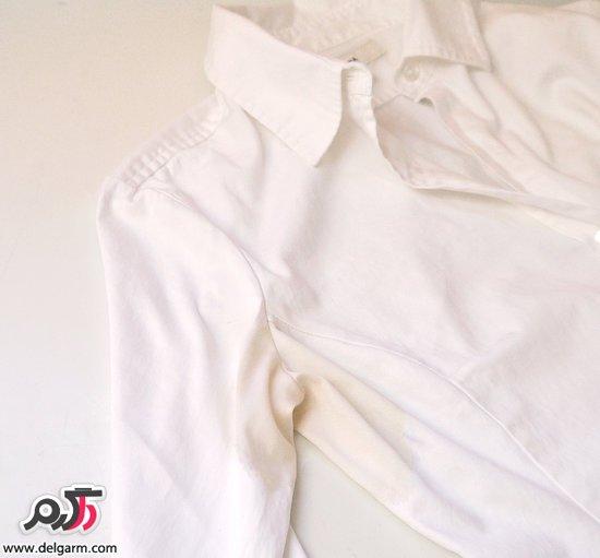 ترکیبات جادویی برای از بین بردن لکه های عرق از روی لباس