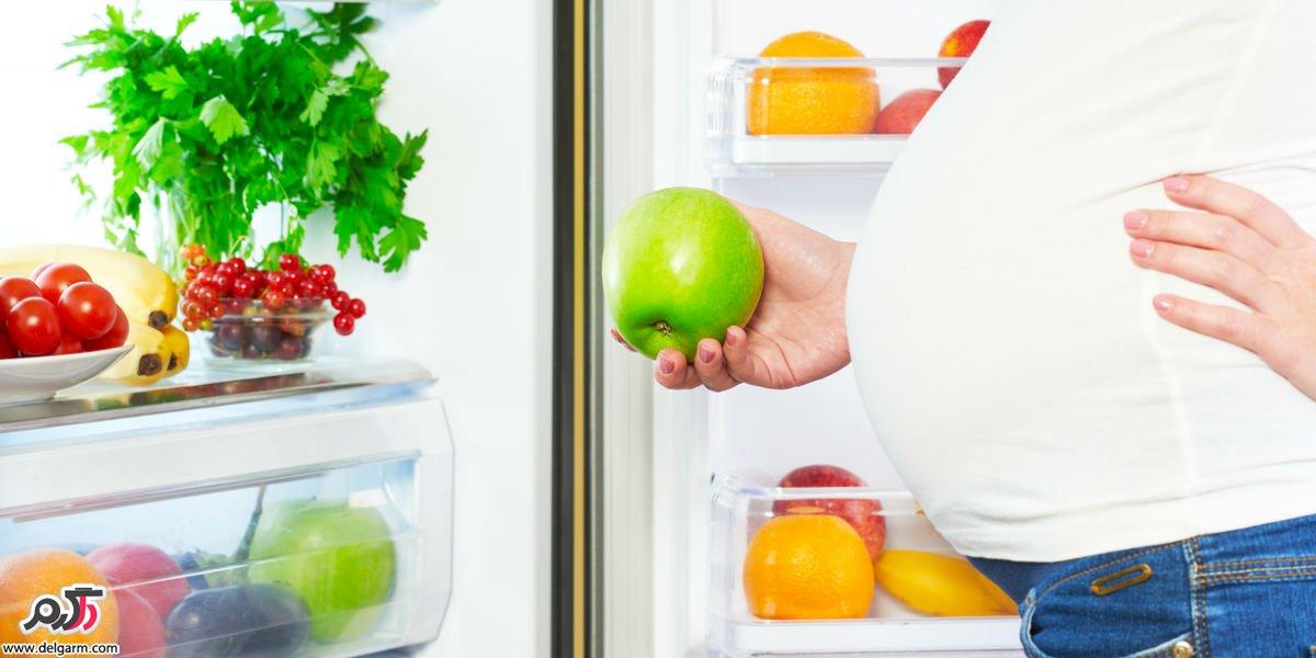 رژیم غذایی در دوران بارداری افزودن