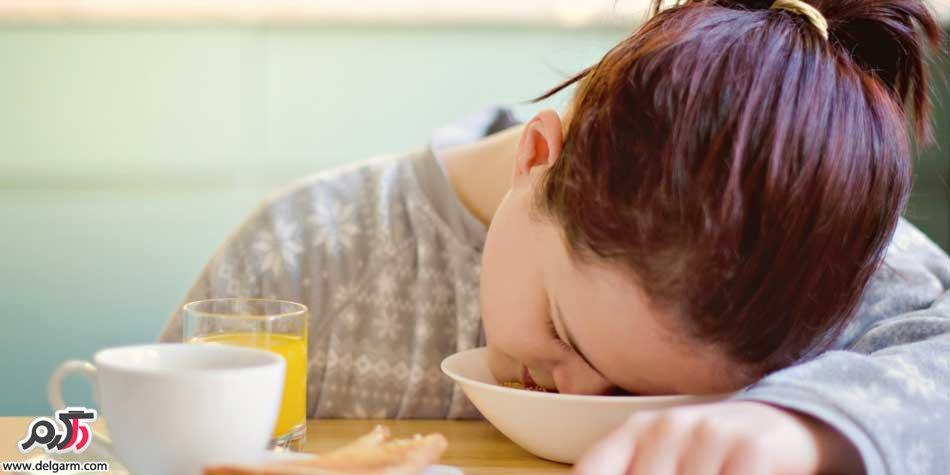 علت سنگینی معده بعد از غذا