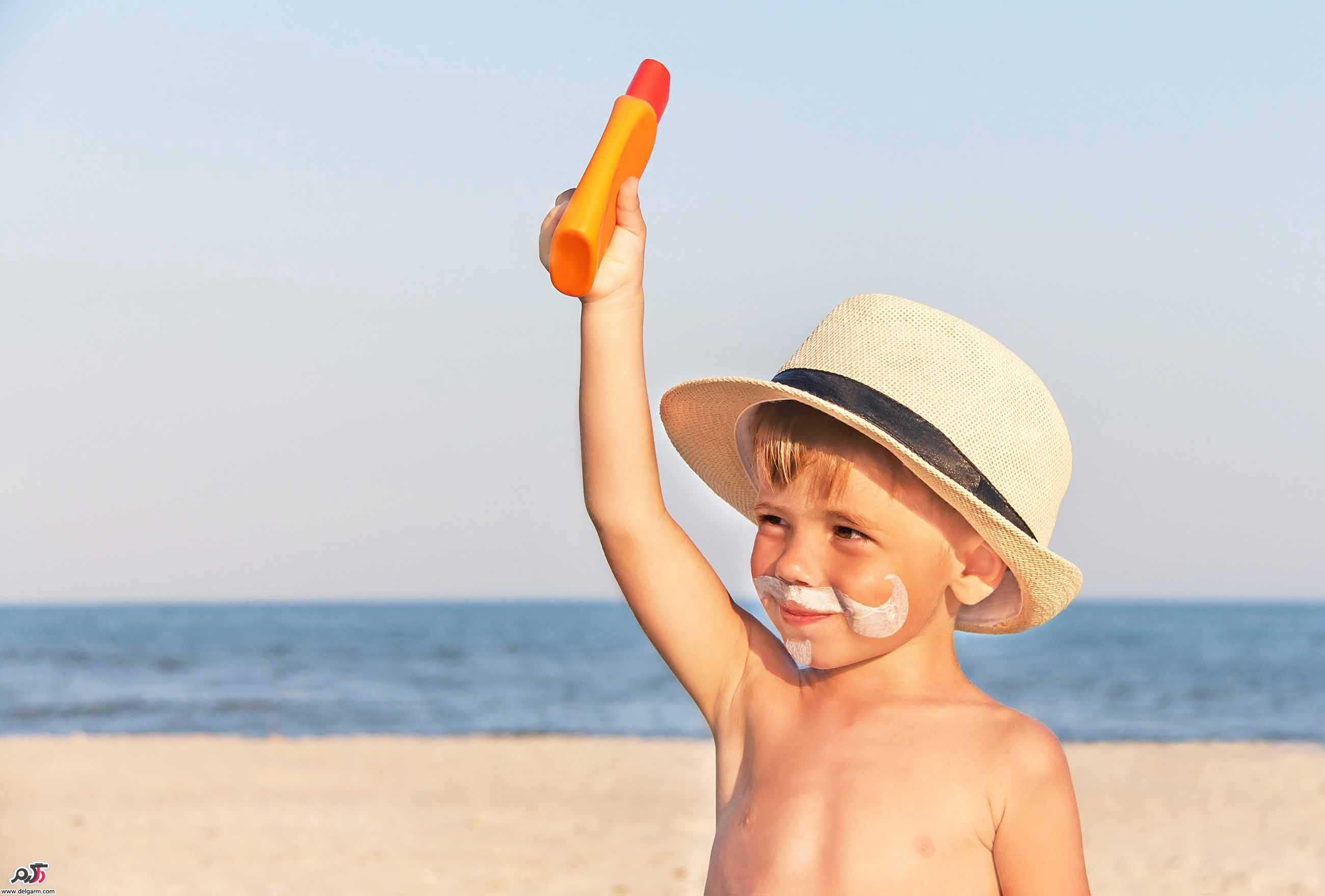راه های جلوگیری از آفتاب سوختگی