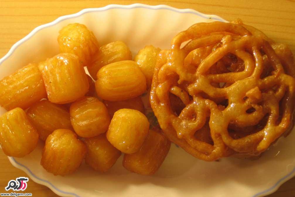 طرز تهیه زولبیا و بامیه خانگی خوشمزه ویژه ماه مبارک رمضان