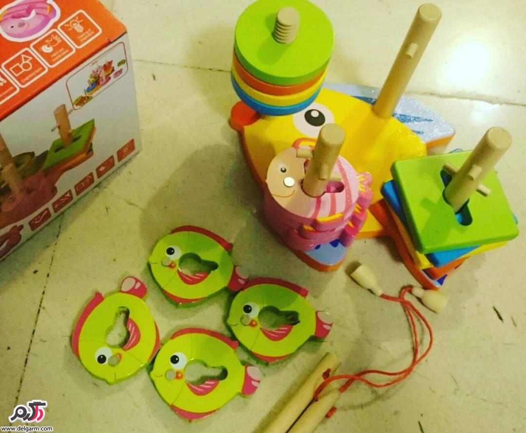 اسباب بازی و سازه های چوبی