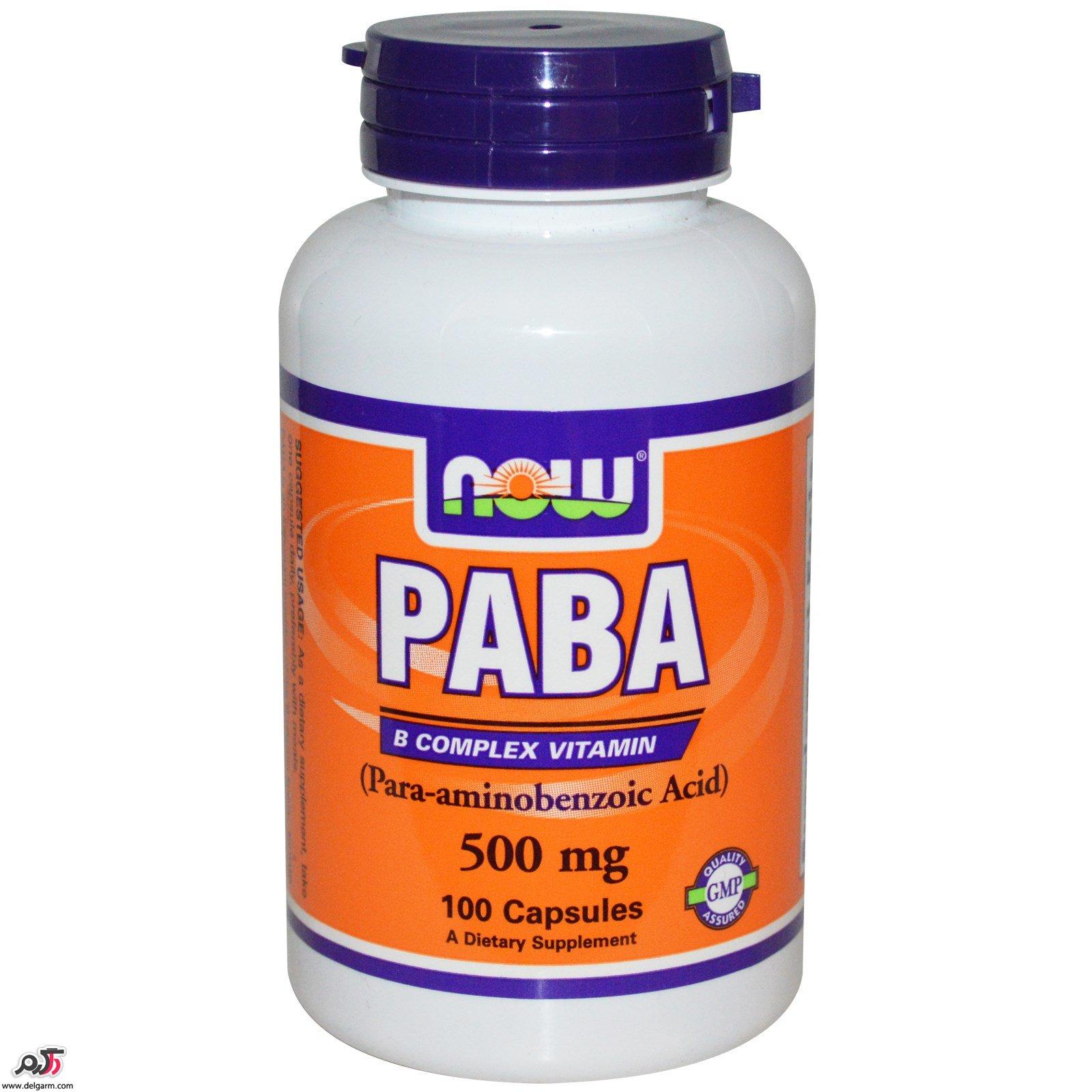 موارد و عوارض مصرف پابا- کا (Paba-K) چیست؟ منع مصرف و تداخل دارویی پابا- کا چیست؟