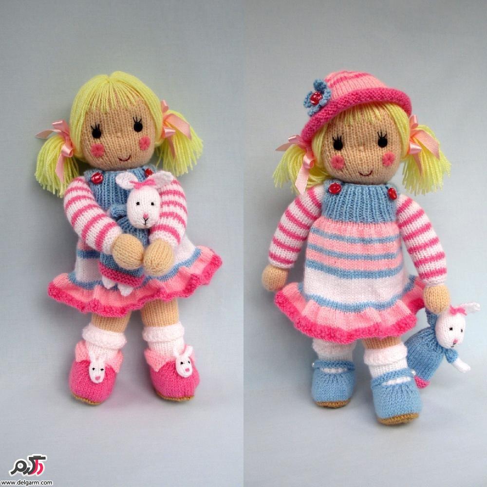 نمونه هایی از عروسک بافتنی