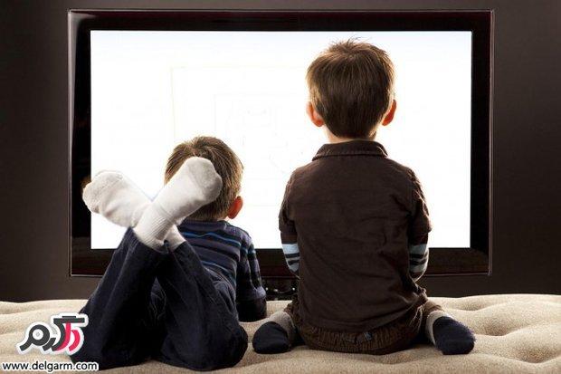 تماشای تلویزیون در کودکان