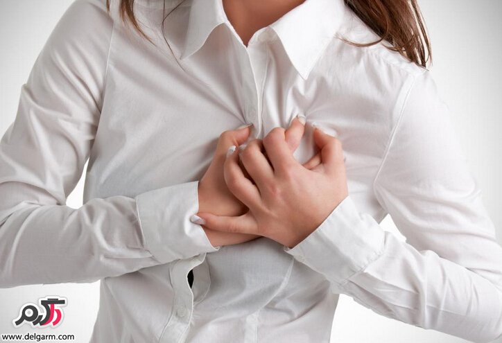The cause of chest and back pain