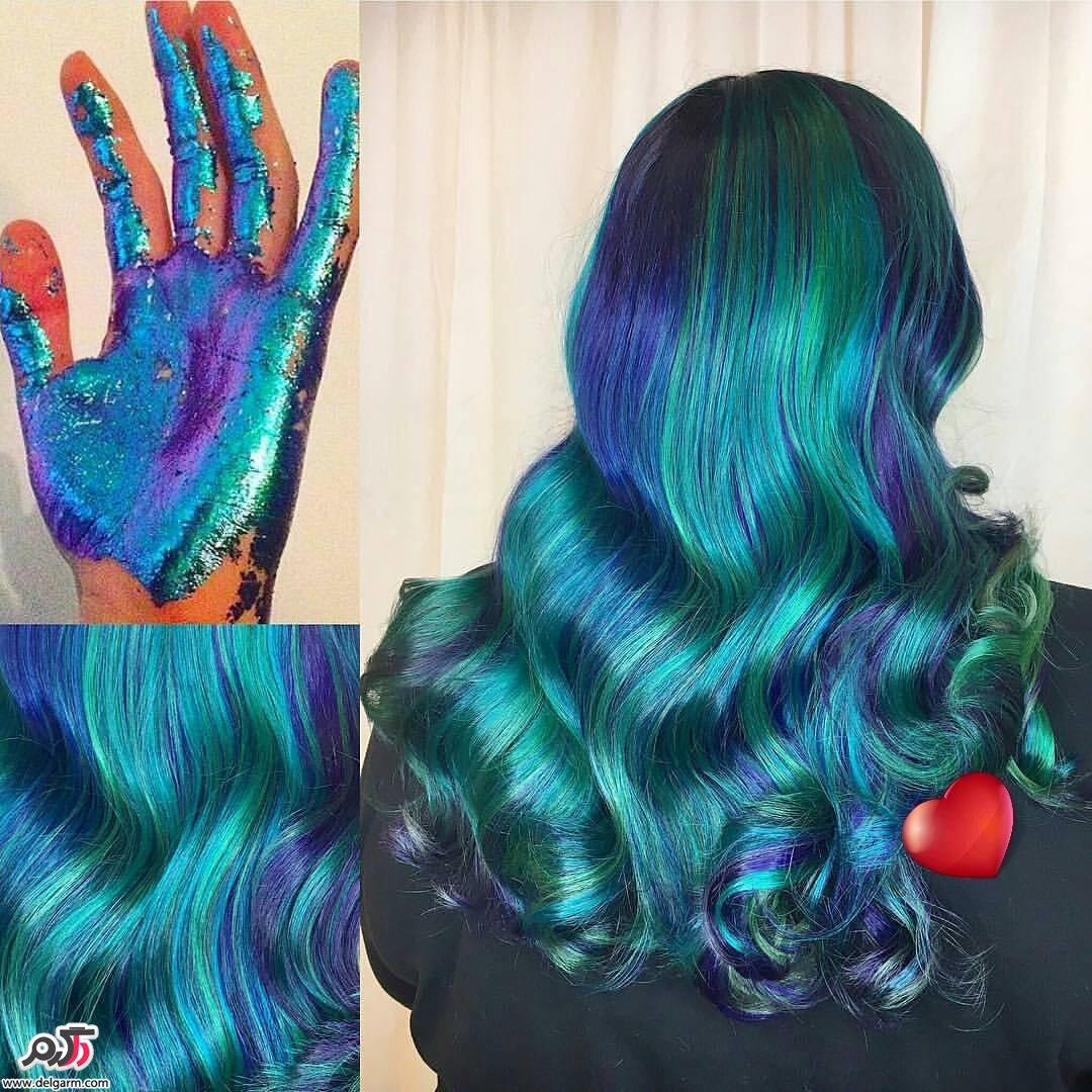 فرمول رنگ مو کامل   زیباترین فرمول رنگ موهای 2017