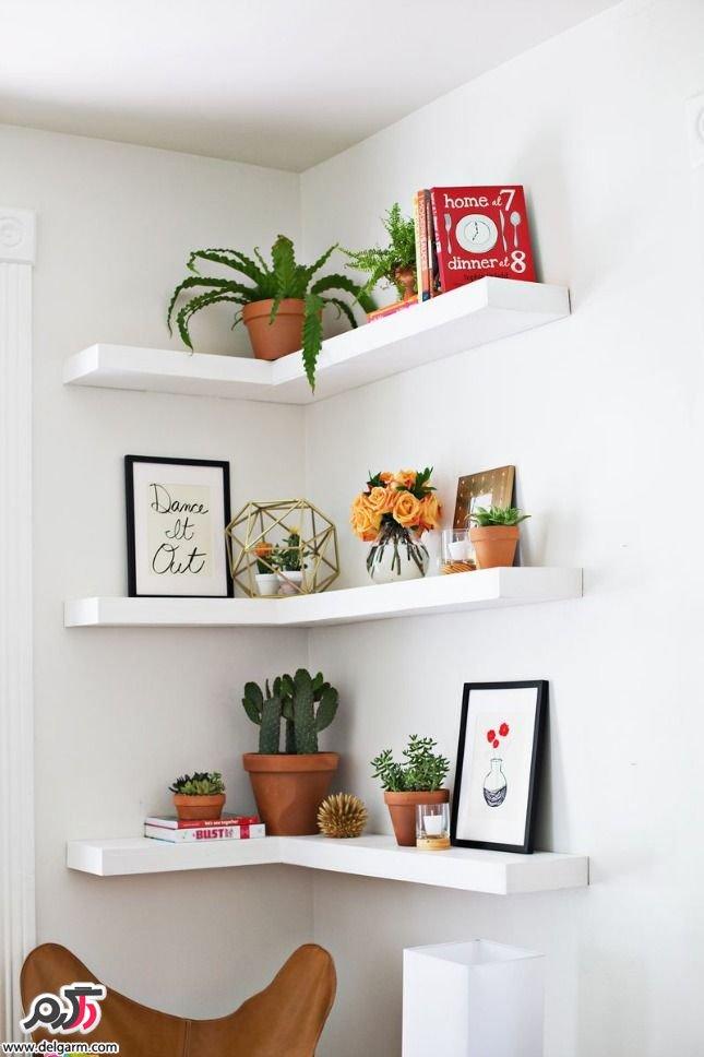 گالری از جدیدترین شلف و قفسه های دیواری(چوبی)