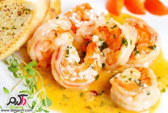 آموزش غذاهای دریایی | طرز تهیه ناچس میگو در ماکروویو رژیمی