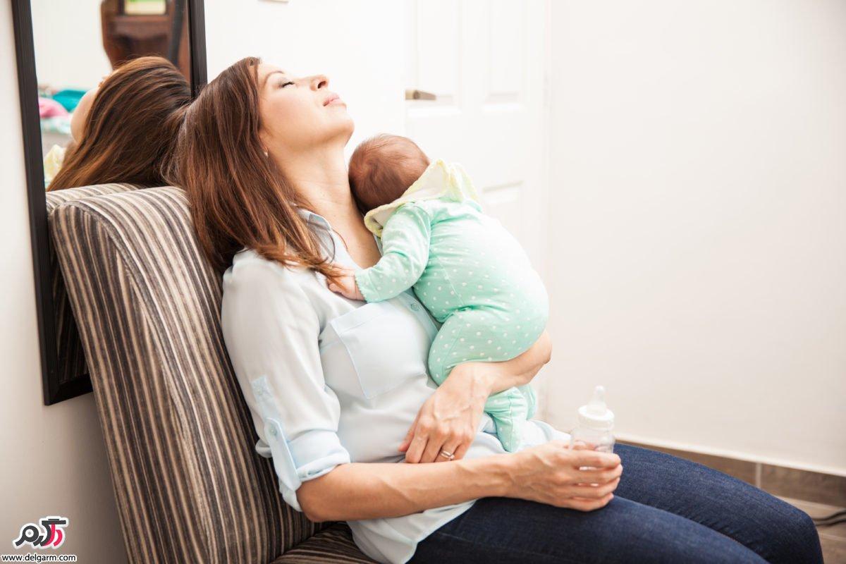 علت جمع شدن رحم بعد از بارداری چیست؟