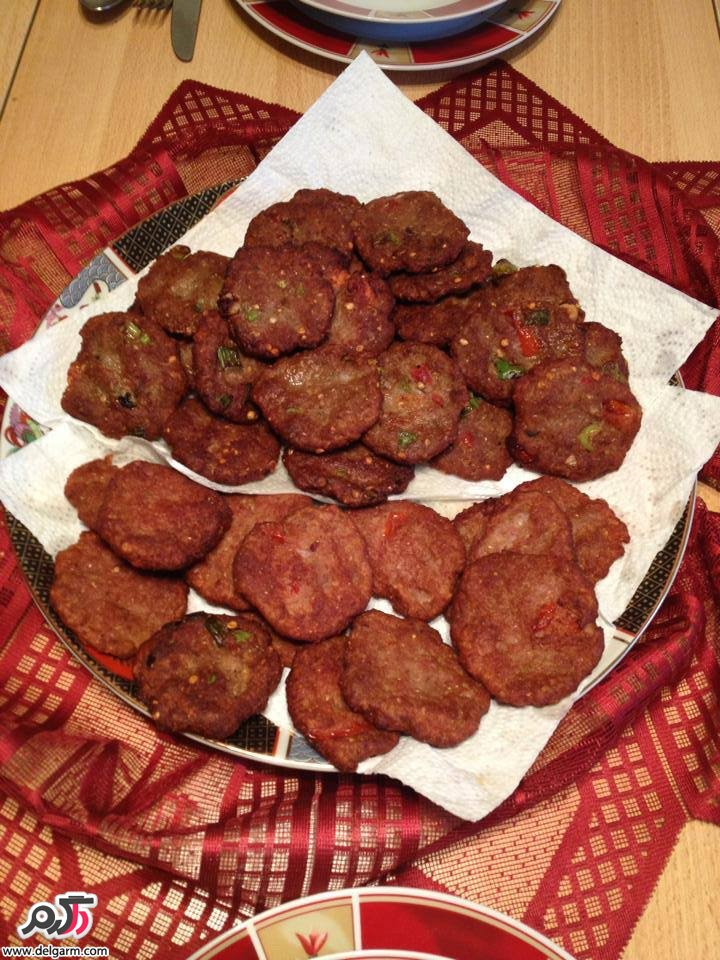 طرز تهيه کباب چپلی(غذای خوشمزه افغانی)