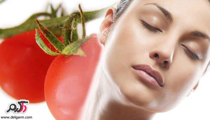 تاثیر گوجه فرنگی بر زیبایی پوست