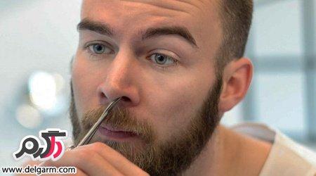 خطر مرگ با کندن موهای بینی و دستکاری مثلث خطر صورت