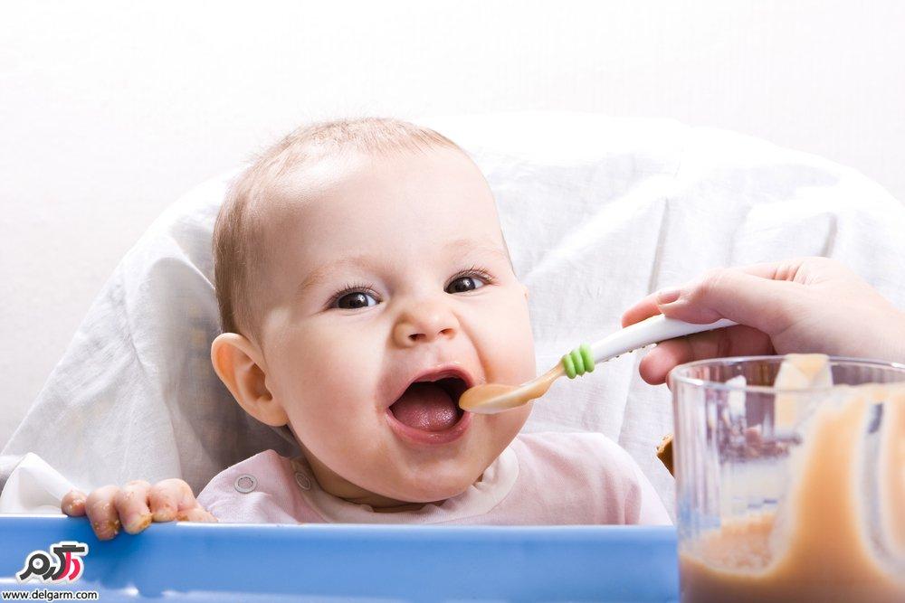 غذاهای کمکی به نوزاد بعد از 6 ماهگی