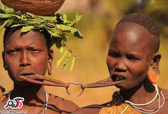 ۱۲ سنت عجيب و باورنکردني قبايل آفريقايي