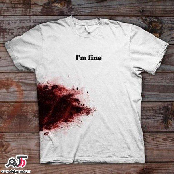 طرح های جالب و خلاقانه تی شرت مردانه