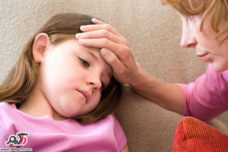استفراغ و تهوع کودکان: علت و درمان