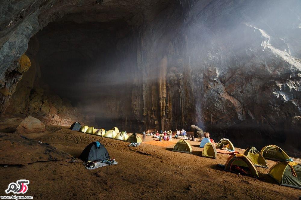 تصاویر شگفت انگیز بزرگترین غار دنیا!!
