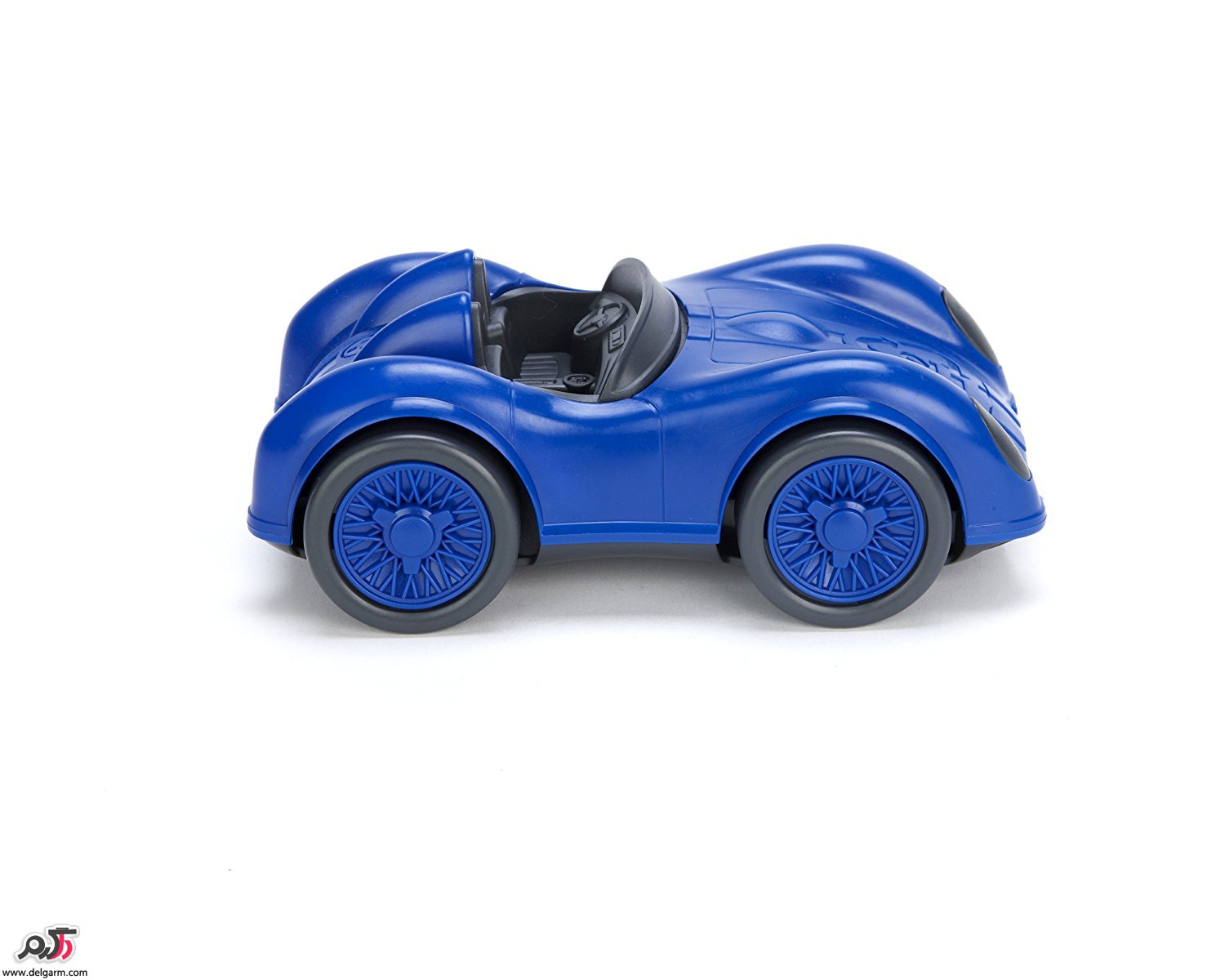 Blue And Green Race Car From Cars