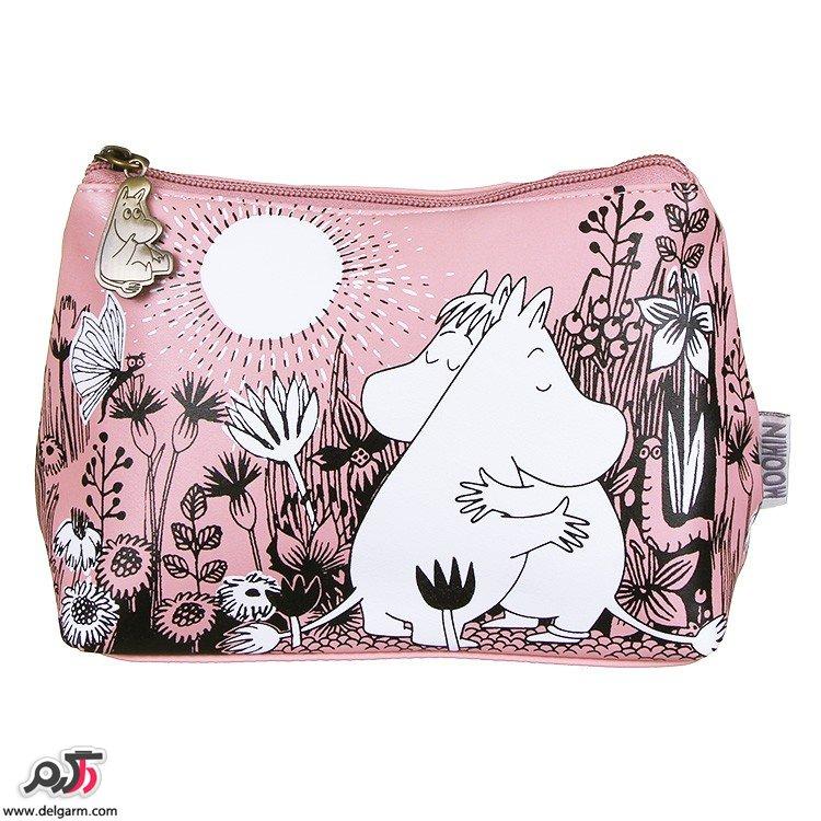 کیف لوازم آرایشی زنانه و دخترانه شیک و رنگارنگ