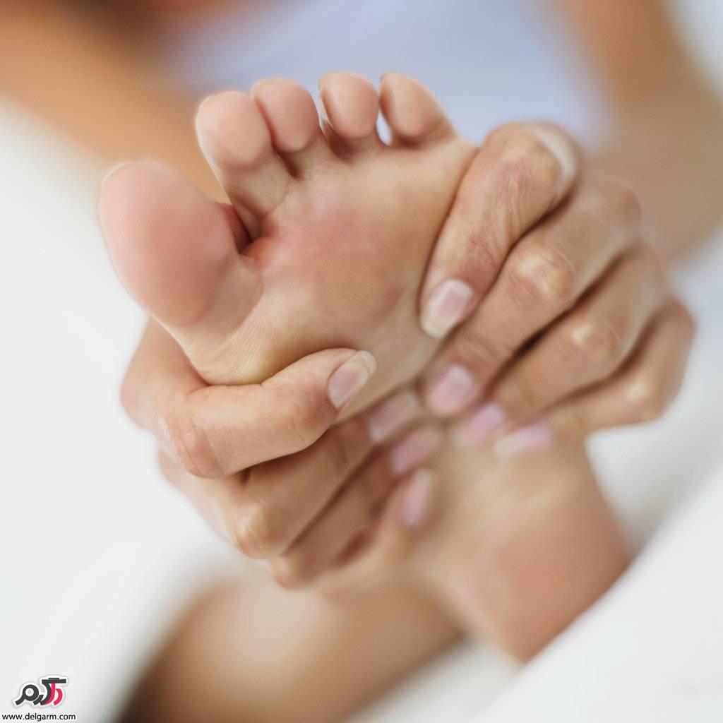 درمان پینه کف پا