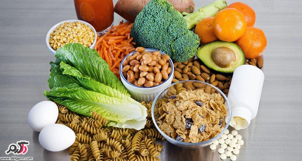 خواص و فواید فولات (ویتامین B9) و بهترين منابع غذایی دارای فولات