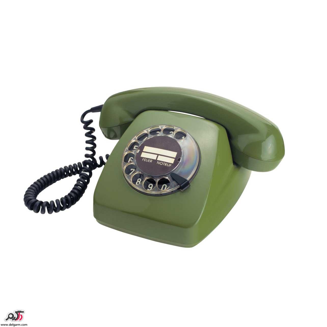 تصاویر تلفن های قدیمی که بسیار جذاب و منحصربفرد هستند.