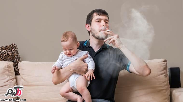 تاثیر دود سیگار بر روی کودکان