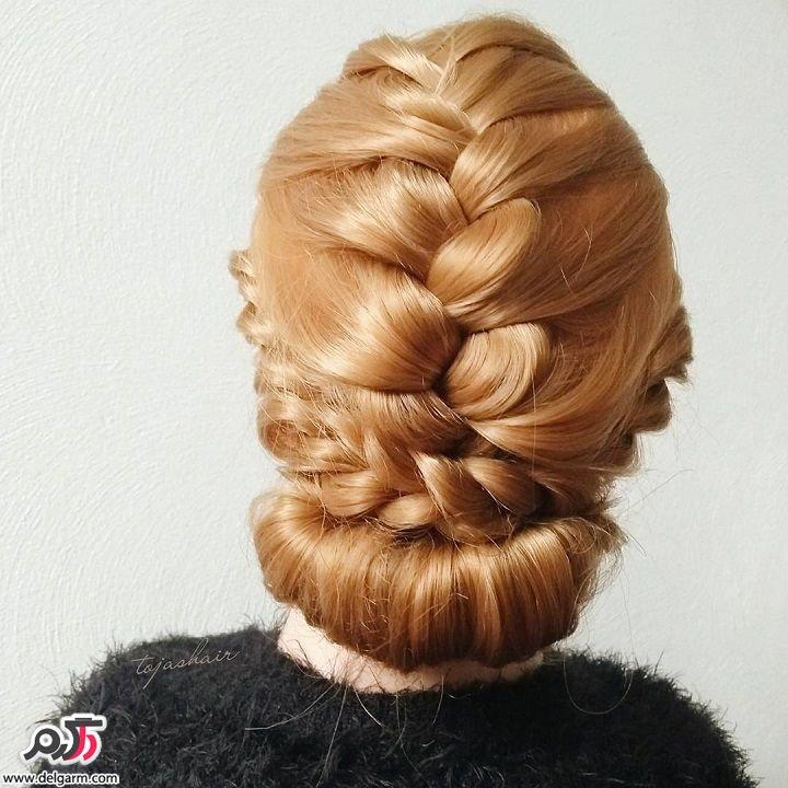 شینیون مو اروپایی