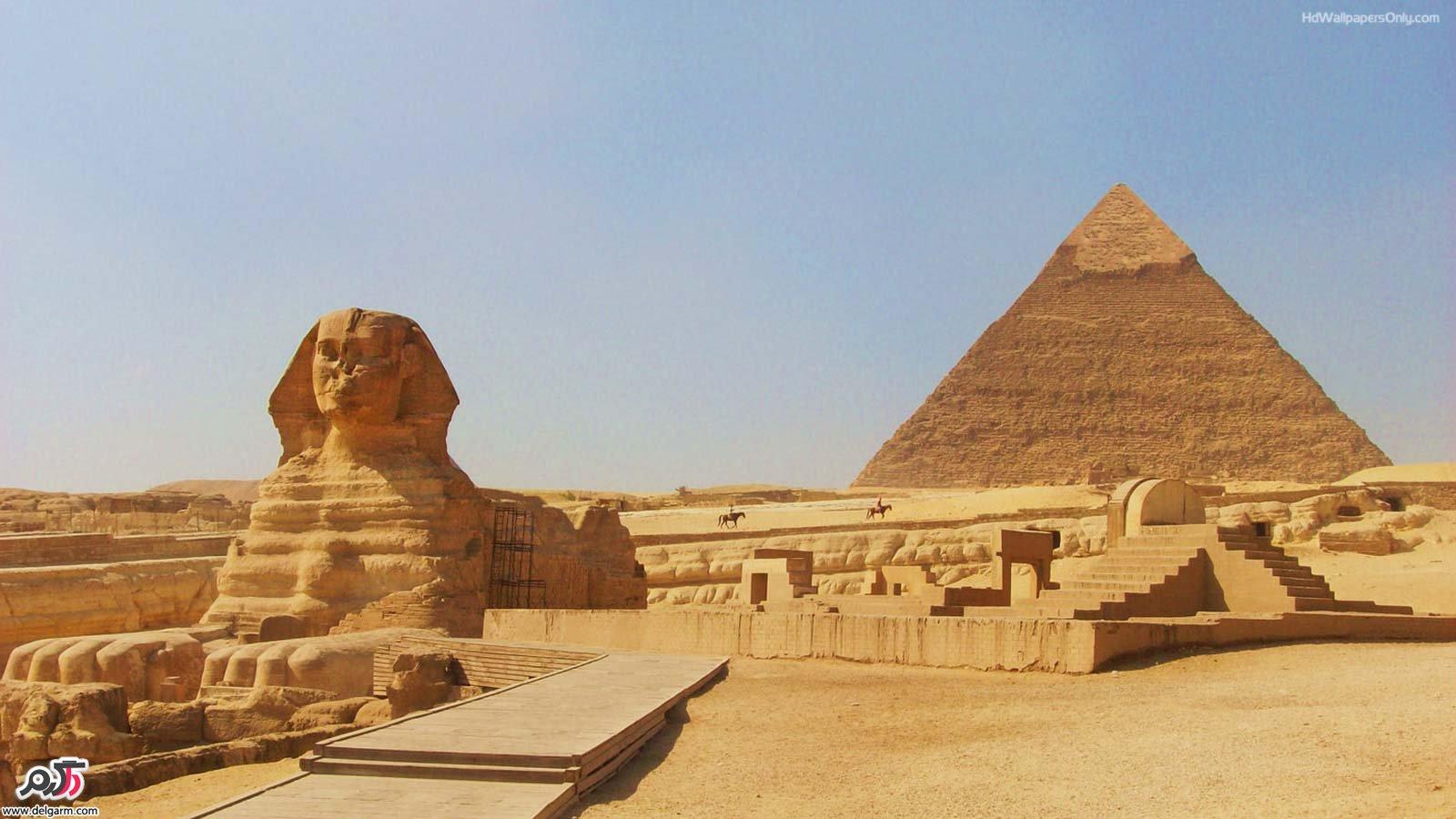 در مورد اهرام مصر