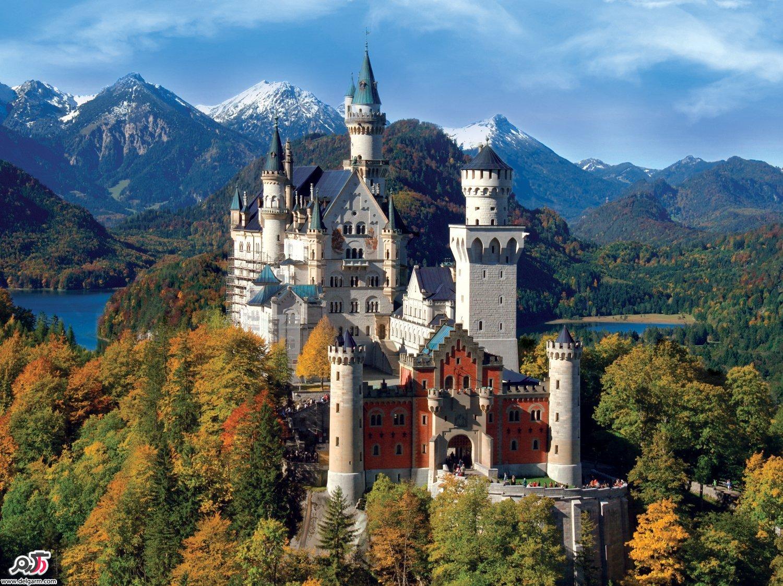 قلعه های افسانه ای آلمان + عکس
