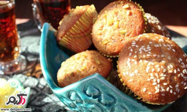طرز تهیه کیک یزدی - آموزش درست کردن کیک یزدی ساده + ویدئو و عکس