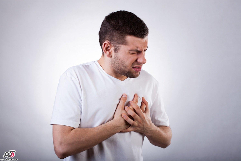 علت درد ناگهانی قفسه سینه