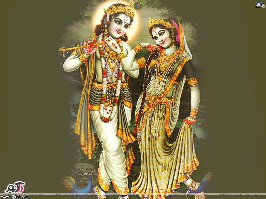 کریشنا (جذاب متعال) الهه ی معروف هندی ها