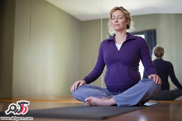 فواید یوگا در بارداری