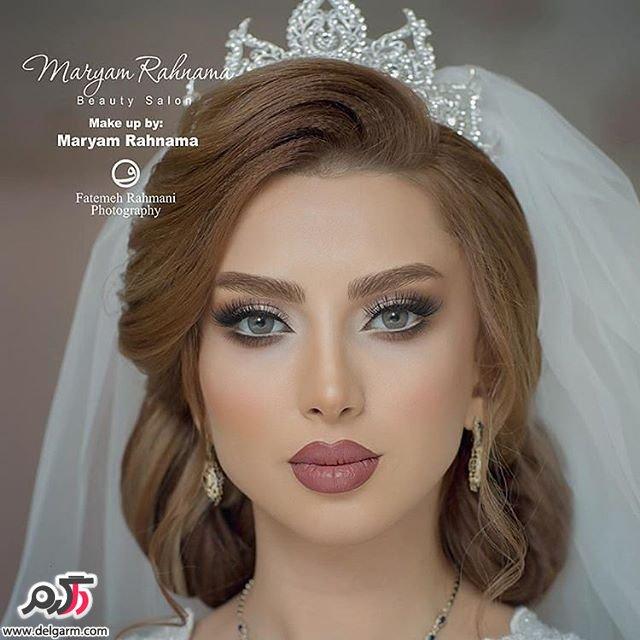 مدل آرایش و گریم عروس