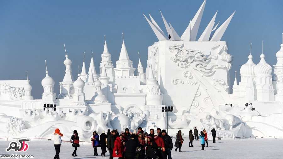 جشنواره مجسمه های یخی و برفی هاربین