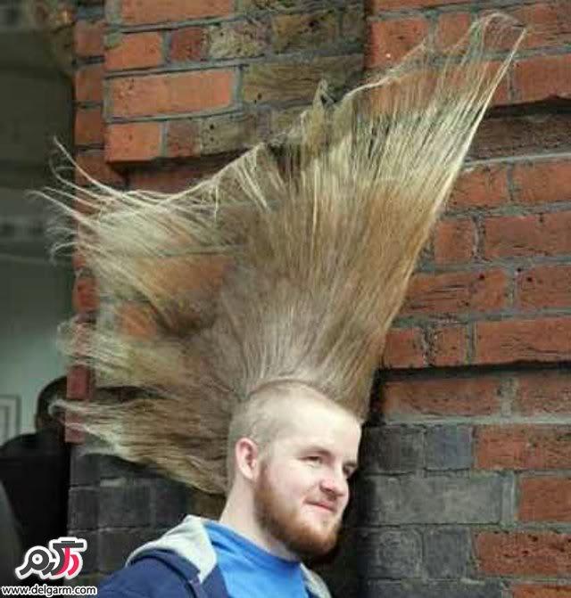 مدل موی عجیب و خنده دار
