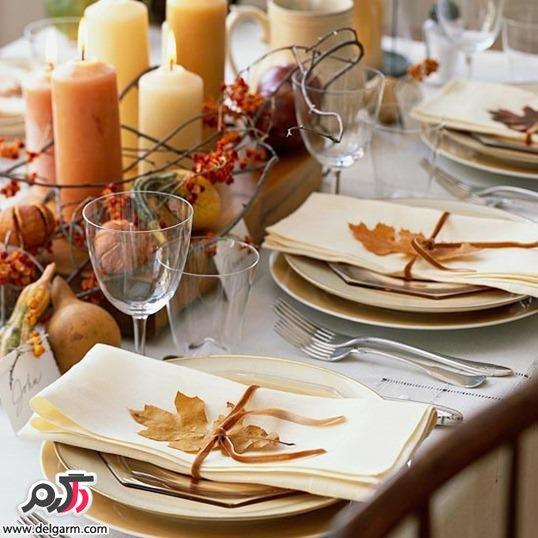 سفره آرایی و تزیین میز غذا