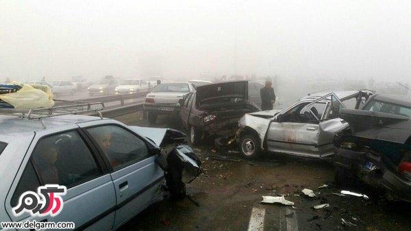 سوالات مربوط به تصادفات راهنمایی و رانندگی