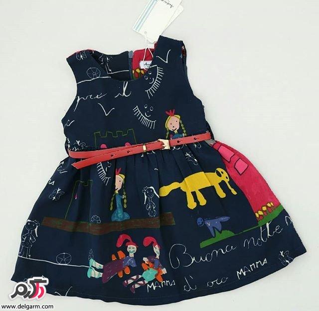 لباس کودکانه دخترانه